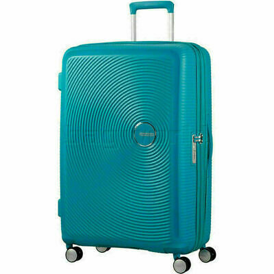 American Tourister Curio Large 80cm Expandable Hardside Suitcase Turquoise 86230