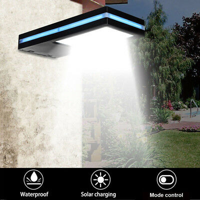 Solar Power 144 LED Motion Sensor Light Security Flood Outdoor Garden Path Lamp
