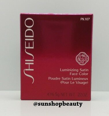 SHISEIDO Luminizing Satin Face Color PK107
