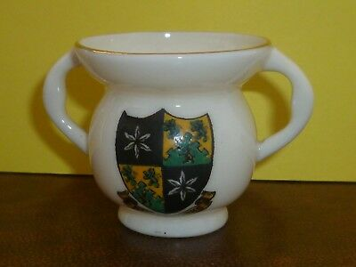 WH GOSS Crested China Model of Abbots Cup. Crest of Ripley, Yorks