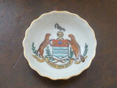 WH GOSS Crested China, Pin Dish / Tray. Crest of Newark Upon Trent