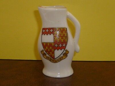 WH GOSS Crested China Model of Abbot Beere's Jack. Crest of Midhurst