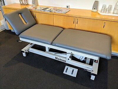 3 Section Electric Massage Table/Bed. METRON Professional Series (Astor Series).