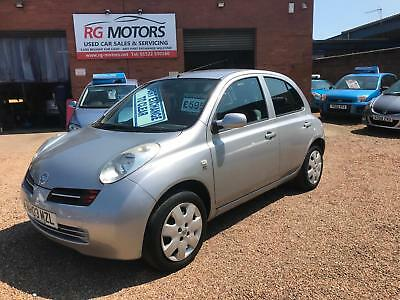 2003 Nissan Micra 1.5 dCi SE Silver 5dr Diesel Hatch **CHEAP PX TO CLEAR*