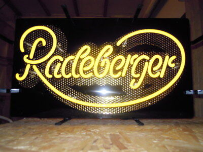 Original Radeberger Neon Sign