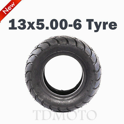 "13 x 5.00 - 6"" Tyre/Tire Wheel ATV Go Kart Scooter Mini Bike Buggy Mower"