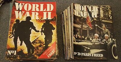 World War 2 magazines Orbisissues 1-120 some issues missing