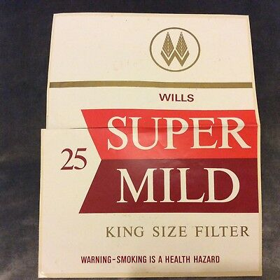 Vintage Sticker - Wills Cigarettes