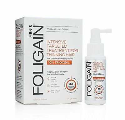 FOLIGAIN Haire Regrowth Treatment For Men with 10% Trioxidil
