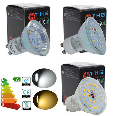 4/8/10x 3W 5W 7W GU10 MR16 LED Bulbs SMD Lamps 35W 50W 60W Halogen Replacement
