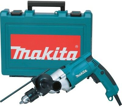 Makita Hammer Drill 3/4 in. 6.6 Amp Corded Torque Limiter Side Handle LED Light