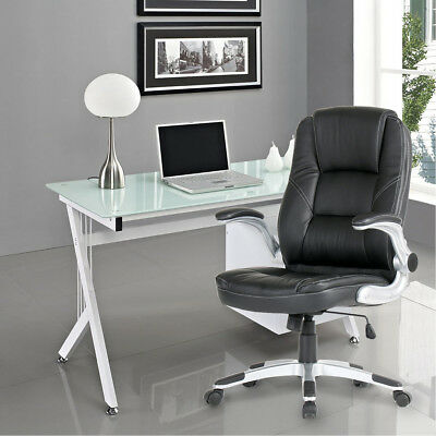 Swivel Office Chair PU Leather Adjustable Racing Gaming Bucket Computer Chair