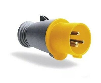 MK Commando K9032 Plug 32 Amp 2P+E 100-130 Volt (IP44) Yellow