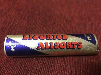 Rare 1930 Licorice All sorts 1/2 D Dummy Packet