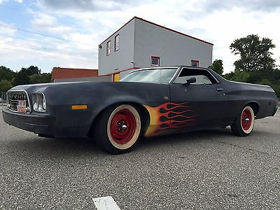 Ford Ranchero 72er mit Top Chop  Hot Rod  Pick Up Harley Transporter Oldtimer