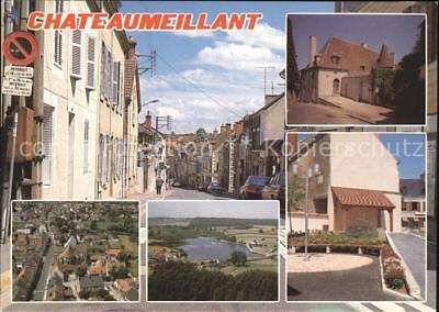 11893781 Chateaumeillant Musee Fliegeraufnahme lac Liberation  Chateaumeillant