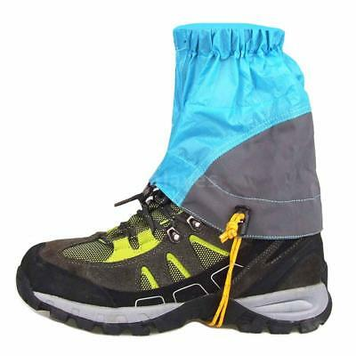 Outdoor Silicon Coated Nylon Waterproof Ultralight Gaiters Leg Protection C7L2