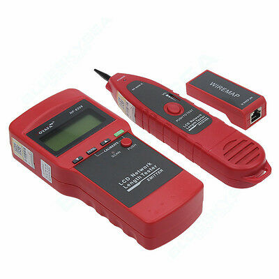 NOYAFA NF8208 Network Ethernet Cable Tester Check 5E 6E Wiring Error LCD Display