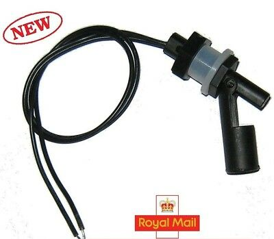 Water Level Sensor Horizontal Float Switch Side Mounted PP Pool Tank Aquarium