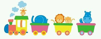 Sticker Adhesive Sticker Vinyl CHILD TRAIN child BABY 65 x 175 CMS