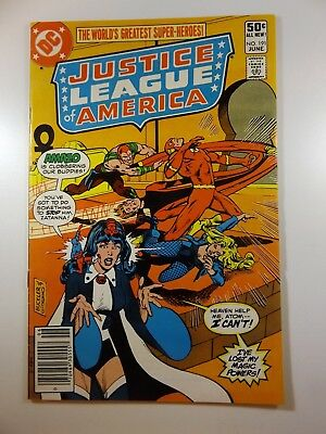 """Justice League of America #191 """"One Man Justice League!"""" Sharp VF+ Condition!"""
