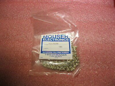 242-4030 Xicon Trimmer / Variable Capacitors YELLOW 4.0-30 PFD Lot of 100