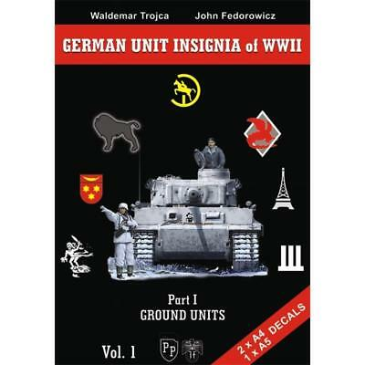 German Unit Insignia of WWII Part I: Ground Units Trojca Wehrmacht 2. Weltkrieg