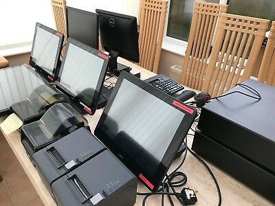 Takeaway Epos Till System Hardware Driver Delivery Display With Pos