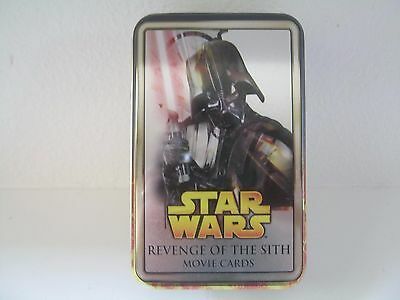 Star Wars Revenge Of The Sith Movie Cards Tin Only Topps 2005 FREE SHIPPING