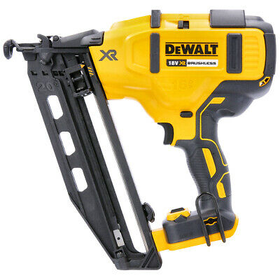 Dewalt DCN660N 18v 32-64mm Brushless Cordless 16g Angled Nailer Body Only