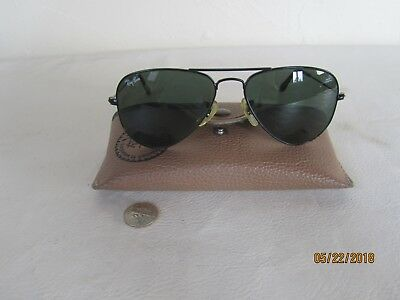 Vintage Ray-Ban Aviator Sunglasses L2848 with Case & Pamphlet