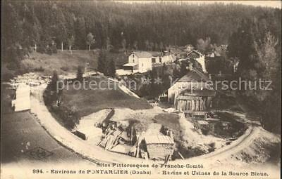 11843290 Pontarlier Doubs Ravins et Usines de la Source Bleue Pontarlier