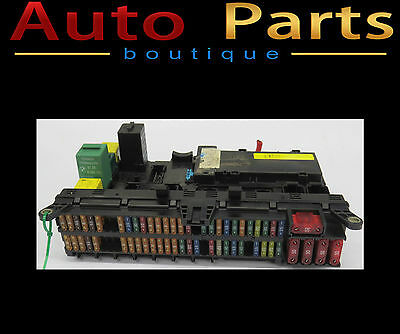 Bmw X5 1999-2007 Fuse Box Under Front Right Dash Oem 6118380405 6118380407