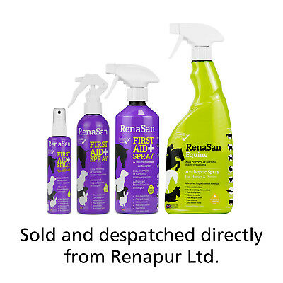 RenaSan First Aid Spray - all animals, dogs, cats, small & large pets, horses