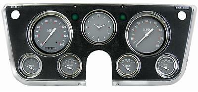 Grey 1967 - 1972 Chevy C10 Pu Pickup Truck Gauge Dash Panel Cluster Ct67Sg