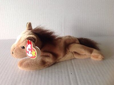 Ty Beanie Babies Derby the Horse NWMT