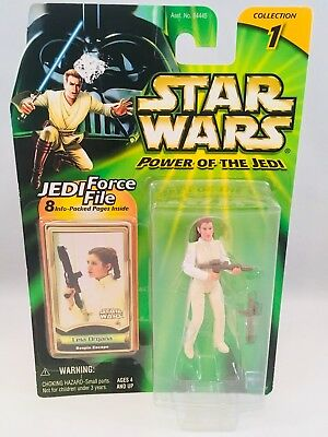 Star Wars Power of the Jedi Leia Organa Collection 1 Action Figure