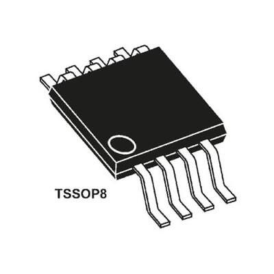 250 x STMicroelectronics STTS75DS2F, Temperature Sensor -55-+125 °C ±3°C 8-Pin
