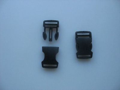 2 Boucles clip / clic clac attache rapide larg. 20 mm