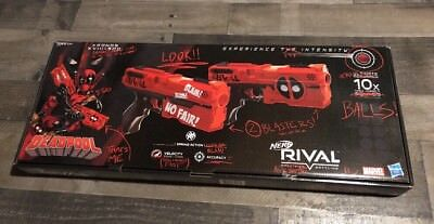 Nerf Rival Deadpool Kronos XVIII-500 Dual pack LIMITED EDITION