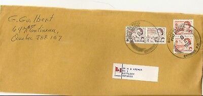 1975 Postal Cover Quebec to Ontario Great Postmarks & Stamps Gatineau PQ