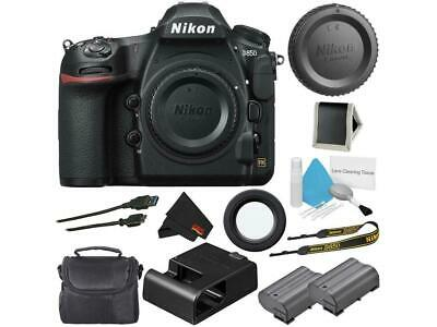 Nikon D850 Digital SLR Camera Body Starter Bundle