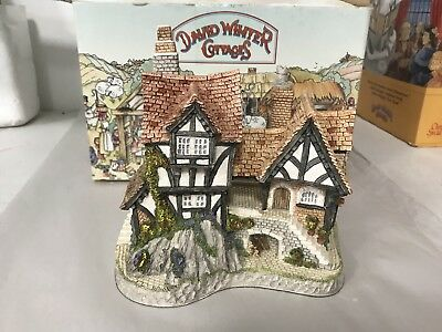 David Winter Cottages Collectors Guild WILL-O-THE WISP 1991 #10 in box