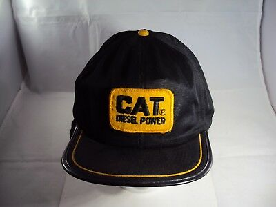 CAT Diesel Power Trucker Hat With Ear Flaps Made In USA!