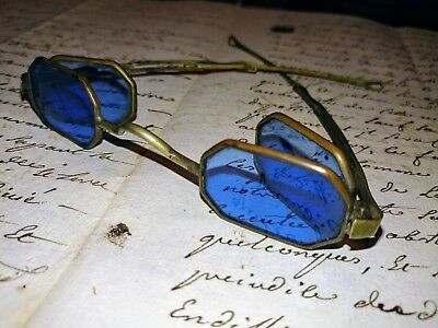 Antique Spectacles, Sunglasses, Carriage Glasses, Civil War, Folding Glasses