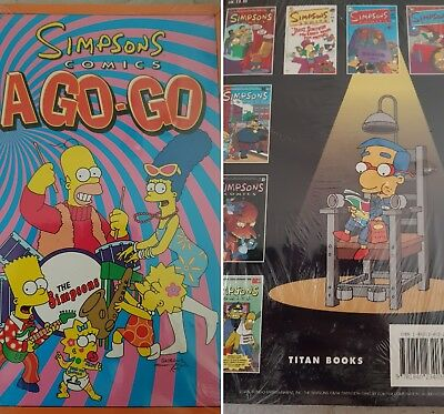 2 Simpsons comics sealed and new