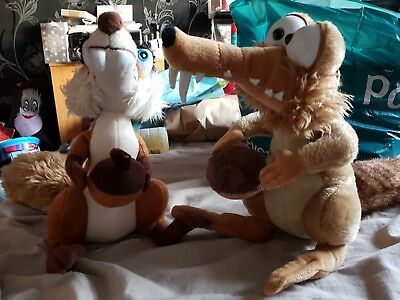 Iceage Scrat and Scratte