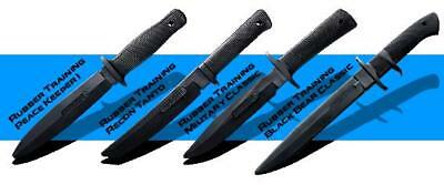Cold Steel Rubber Training practice Knife Knives 4 Set