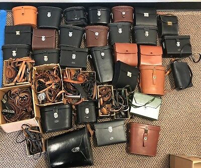 Lot of Binocular Cases and Straps - 29 Total - Assorted brands