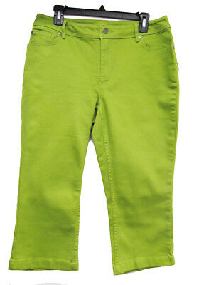 Style & Co Apple Green Capris - Size 10 - New With Tags -Free Ship